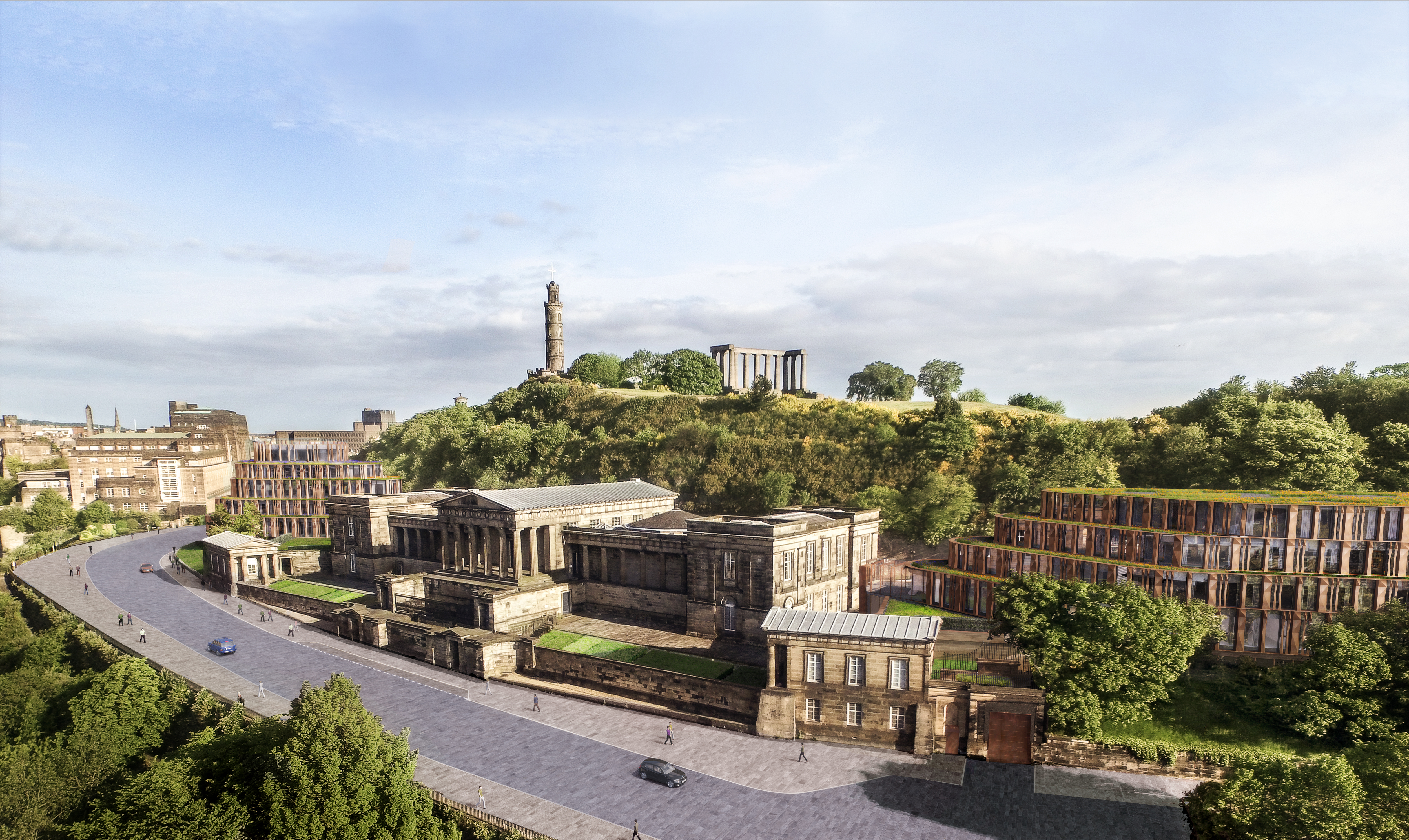 Vision for world-class hotel at Calton Hill unveiled